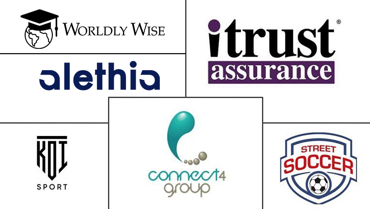 connect4group sponsors, chariteies, street soccer, koi sports, itrust assurance, worldly wise, alethia and partners